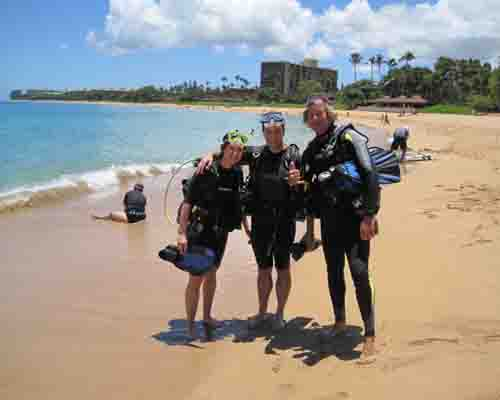 Maui Shore Dive In Lahaina Maui