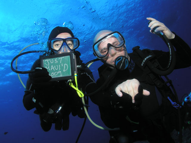 Scuba Maui Honeymoon Package