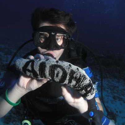 Maui Scuba Refresher Course Student