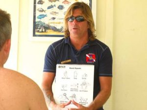 Ty Teaching An Intro Scuba Class In Lahaina