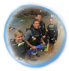 Beginner Scuba Divers In Lahaina Maui