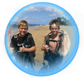 Beginner Scuba Divers In Maui