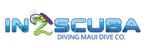 in2scuba diving maui logo