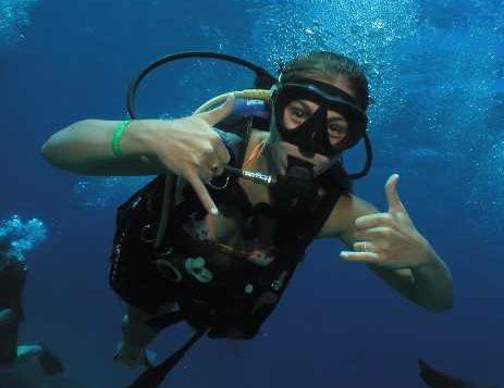 beginner scuba diving in Maui