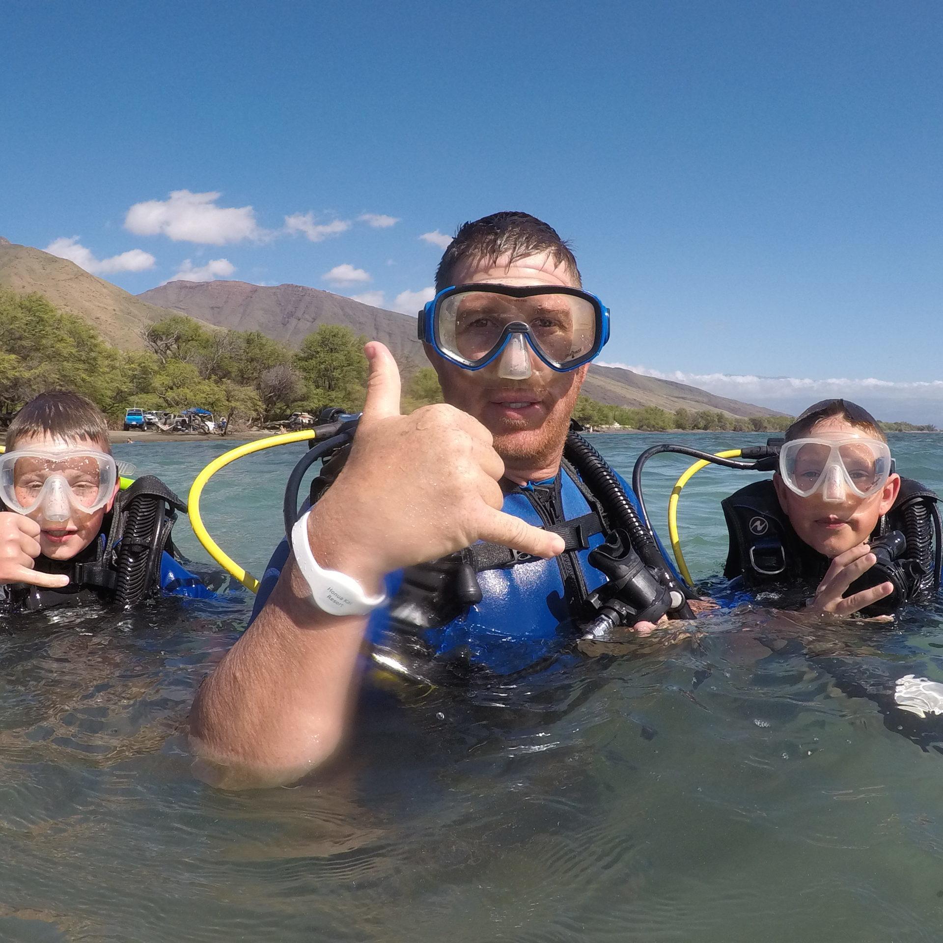 Scuba Lessons in Lahaina Maui