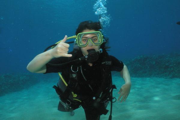 Scuba Class in Maui