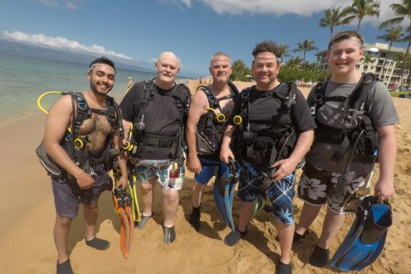 Family Scuba Class in Maui