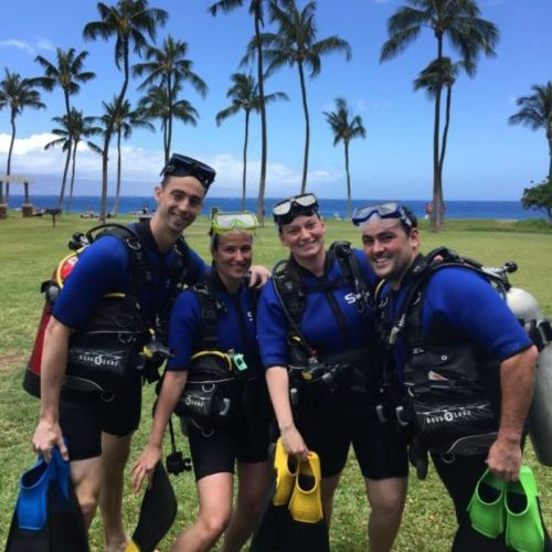 Scuba Refresher Class in Maui